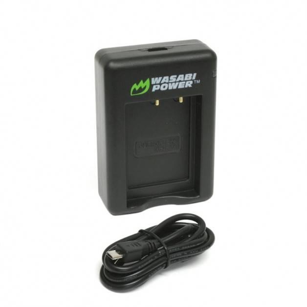 Wasabi Power Batteriladdare för Sony NP-BX1 batterier - Dubbel