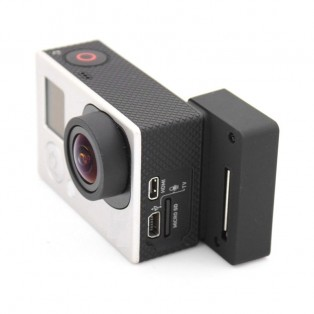 Selfie adapter / kontakt för BacPac-skärm till GoPro
