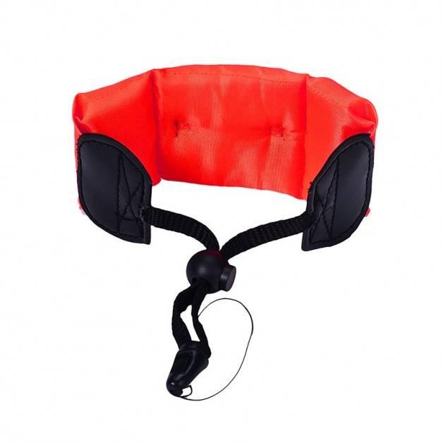 Flytande handledsrem med snabbfäste för din actionkamera - Orange