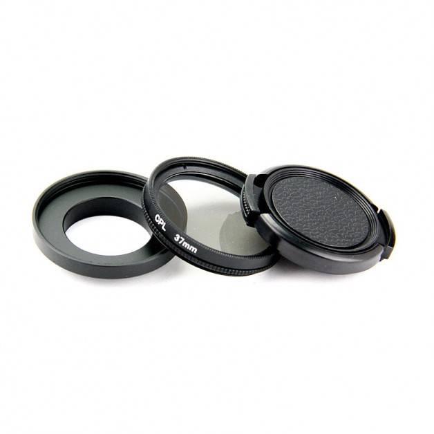 CPL-Filter till GoPro - Kit