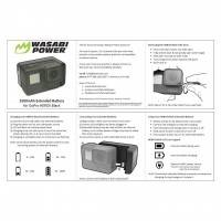 Wasabi Power Extra Batteri till GoPro Hero5 - 2500mAh