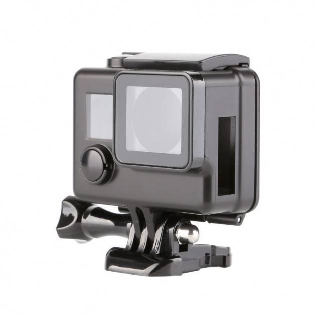 Skyddande skal med öppen sida till GoPro Hero4/3+ - Svart