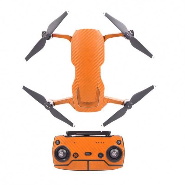Klistermärke / Skin till DJI Mavic Air - Orange