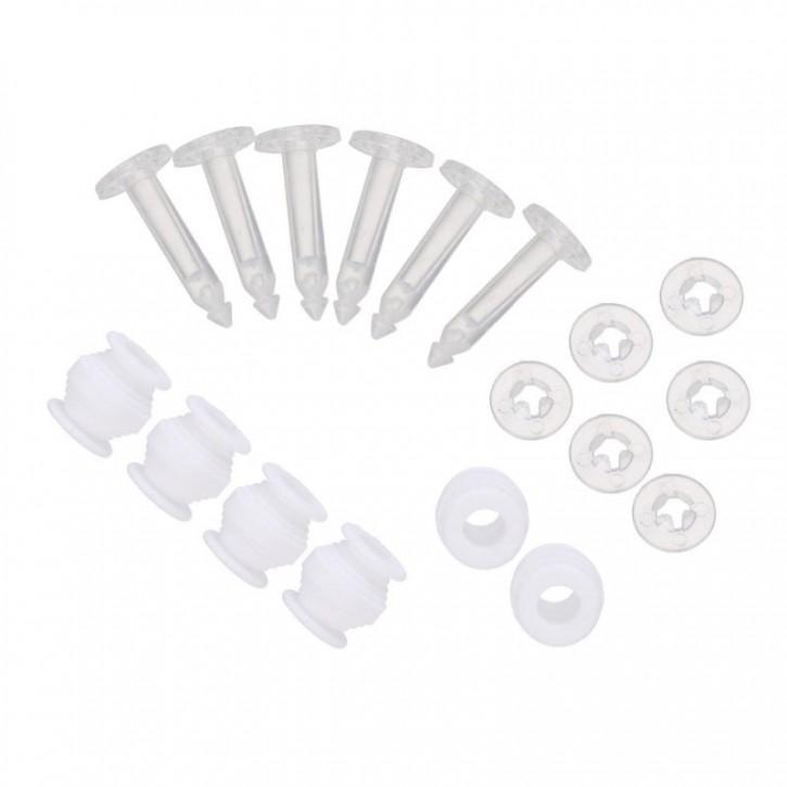 Bild av 6 Pack Gummidämpare och fästplugg för Gimbal Ersättning för Gimb