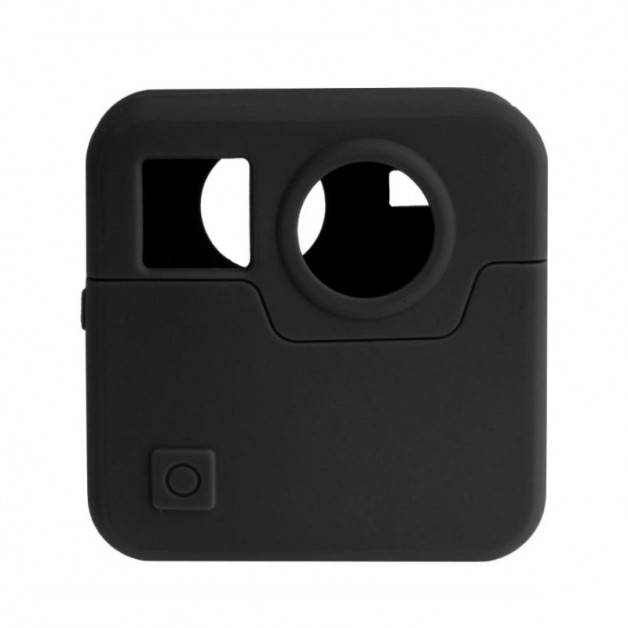Skyddsskal i silikon till GoPro Fusion - Svart