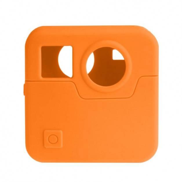 Skyddsskal i silikon till GoPro Fusion - Orange