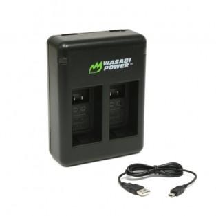 Wasabi Power Batteriladdare för Garmin VIRB 360 batterier - Dubbel