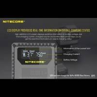 Nitecore Batteriladdare UGP5 för GoPro Hero5/6 Black batterier - Dubbel AHDBT-501