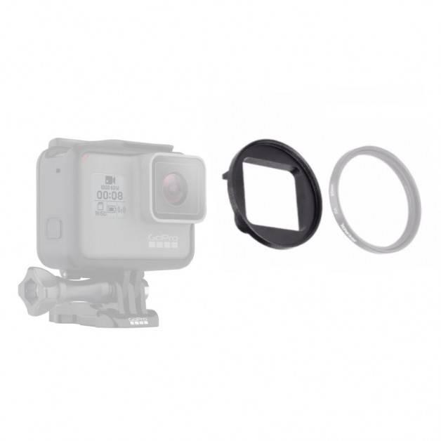 Filteradapter 52mm till GoPro Hero5/6 - Aluminium