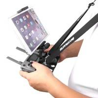 Hållare till padda / mobil för fjärrkontroll till DJI Mavic 2 Pro / Zoom / Mavic Pro / Air / Spark - Alu. - Dubbelsele - Kit