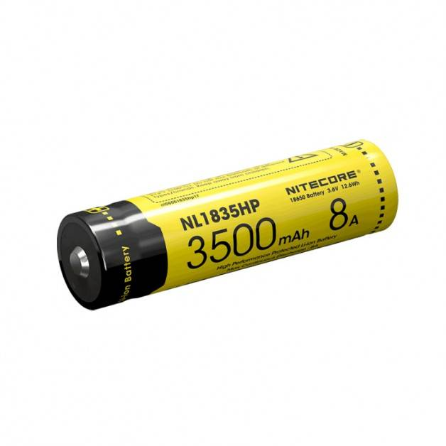 Nitecore NL1835HP Li-ion 18650 Batteri - 3500mAh, 3,6V, Max 8A