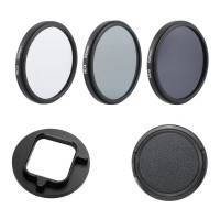 ND-Filter 3-pack till GoPro Hero5/6/7 - ND2 + ND4 + ND8 - Kit