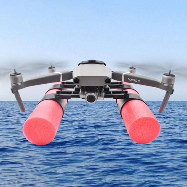 Landningsställ Flytande Pontoner / Fäste för kamera / tillbehör till DJI Mavic 2 Pro / Zoom - Kit