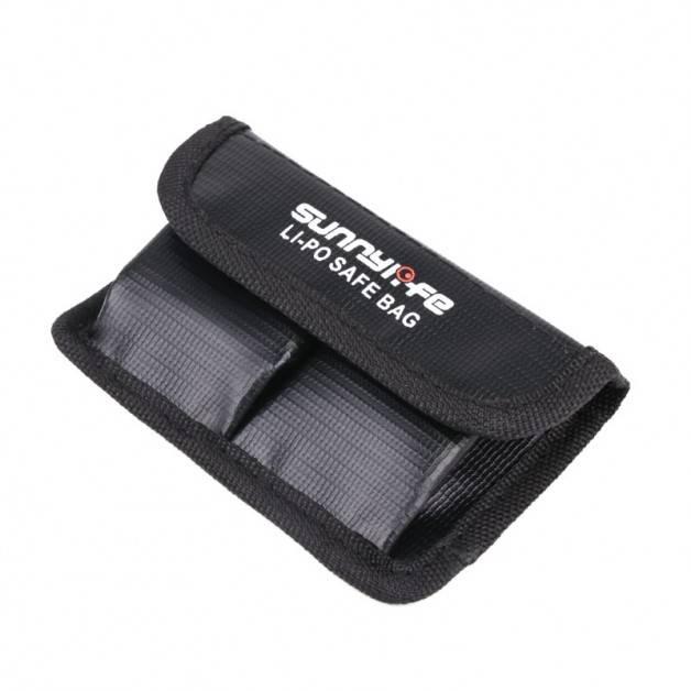 Väska / Skydd för batterier till DJI Osmo Action - Dubbel