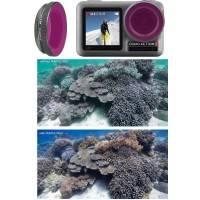 Färgfilter för dykning Lila - DJI Osmo Action