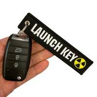 Nyckelband - LAUNCH KEY - Svart