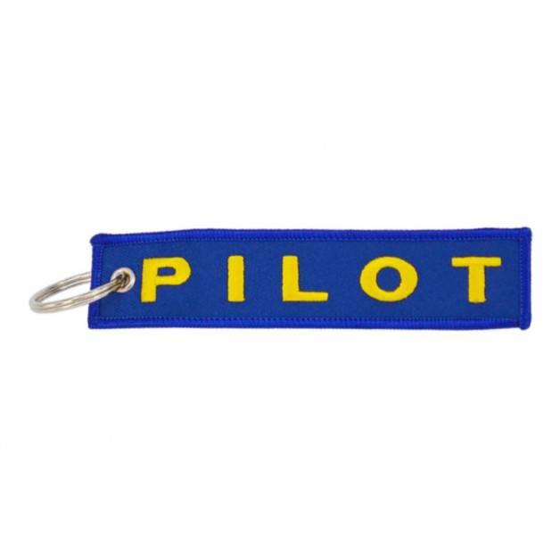 Nyckelband - PILOT - Blå