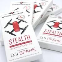 Master Airscrew - DJI Spark Stealth Upgrade Propellers - Propeller till DJI Spark - Blå - Kit 4-Pack