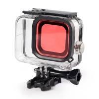 Färgfilter för dykning Röd - Hero8 Black i vattentätt skal
