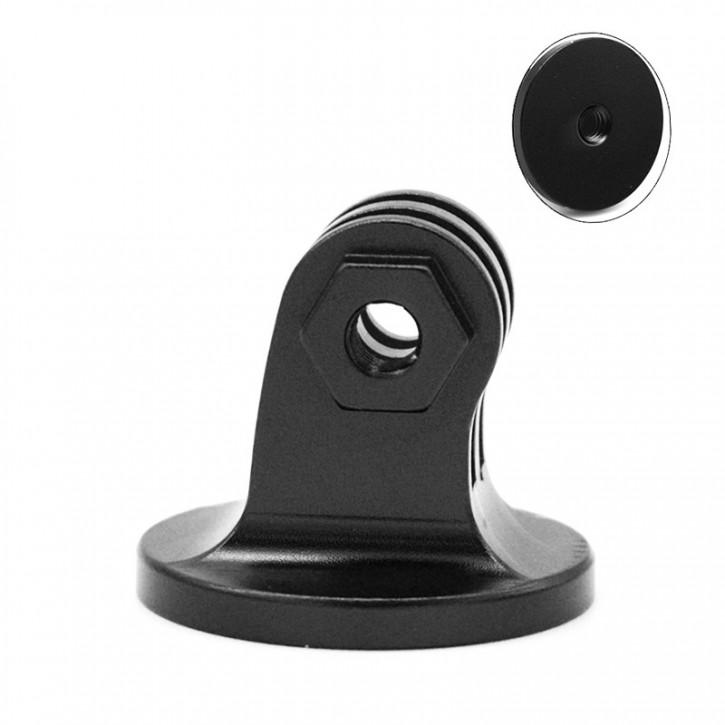 """Bild av Adapter Kamerastativ med 1/4"""" skruv till GoPro Fäste Aluminium"""