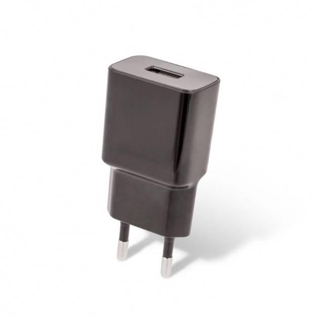 Setty väggladdare - Strömadapter 100-240V till USB 5V 2,4A - 1xUSB Typ A - svart