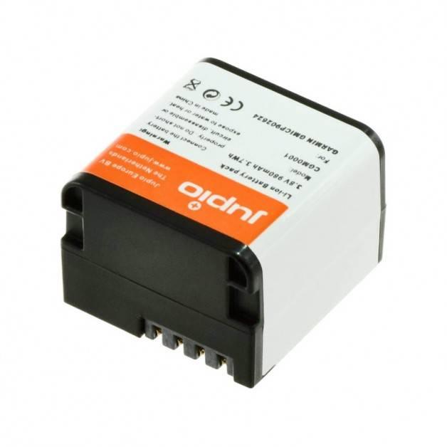 Jupio Batteri till Garmin VIRB X, VIRB XE - ersätter 010-12256-01 - 980mAh