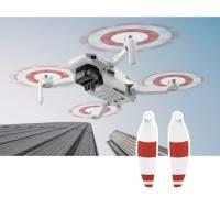 Propeller till DJI Mavic Mini - ersätter 4726F - Low Noise - Kit 4-Pack - Vit/Röd