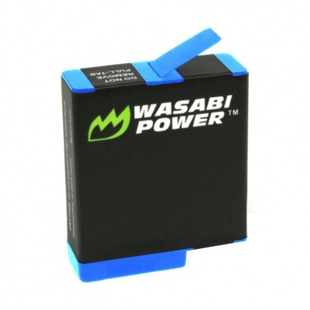 Wasabi Power Batteri till GoPro Hero8/7/6/5 Black - ersätter AJBAT-001 - 1220mAh