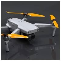 Master Airscrew - DJI Mavic 2 Stealth Upgrade Propellers - Propeller till DJI Mavic 2 Pro / Zoom - Orange - Kit 4-Pack