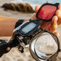 PolarPro SwitchBlade Filter 3 i 1 - För dykning till Gopro Hero8 Black i vattentätt originalskal