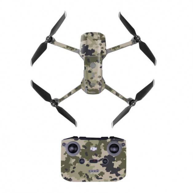 Klistermärke / Skin till DJI Mavic Air 2 - Kamouflage Öken