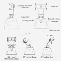 Apai Genie Smart AI hållare 360 grader automatisk objekt-tracking för mobil
