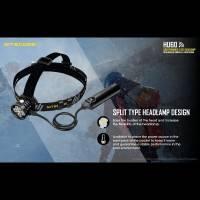 Nitecore HU60 Pannlampa USB-drift med fjärrkontroll - 1600lm