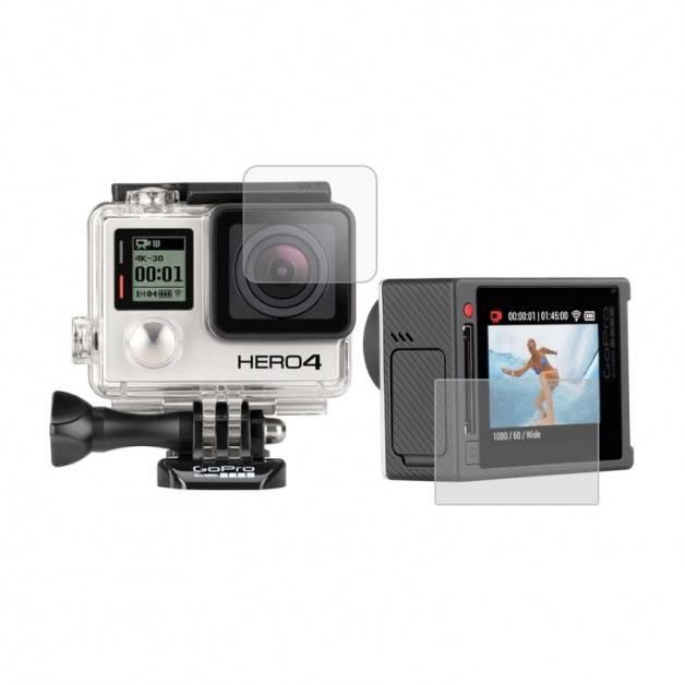 Linsskydd och skärmskydd till GoPro Hero4 och Hero3+