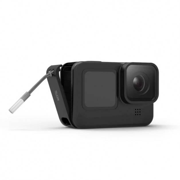 Batterilucka med genomföring USB till GoPro Hero9 Black