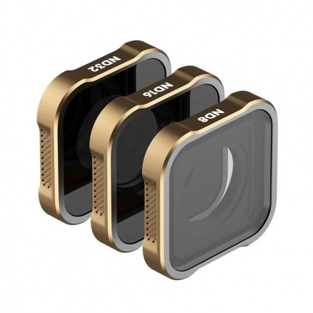PolarPro Shutter Collection Filter Kit - ND8 + ND16 + ND32 filter till GoPro Hero9 Black - 3-pack