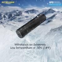 Nitecore NPB1 Power Bank - Portabelt Vattentätt Batteri - 5000mAh, USB Typ A, QC 3.0 / 18W, 5V, 2.4A