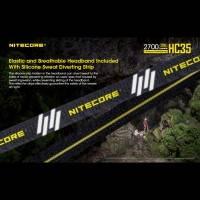 Nitecore HC35 Pannlampa - 2700lm