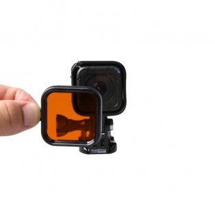 Färgfilter till GoPro Hero4 Session för dyking - Orange
