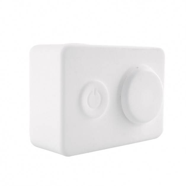 Skyddande skal och linsskydd i silikon - Xiaomi Yi