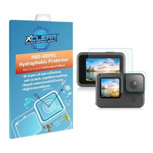 Xclear Pro-Repel Hydrophobic Protector - Hydrofobiskt Linsskydd och skärmskydd till GoPro Hero9 Black - Kit