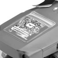 Vattentät självhäftande ID-ficka för drönare 5-Pack