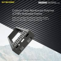 Nitecore NB20000 Power bank - Portabelt batteri - 20000mAh, 3xUSB Typ A/C, QC 3.0 / PD 45W, 5V, 3A - Kolfiber