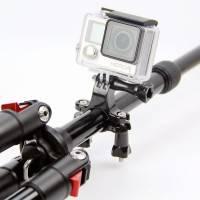 Fäste GoPro till cykelstyre och sadelstolpe - Rör 17-37mm