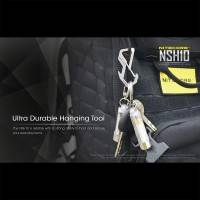 Nitecore NSH10 Multiuse Titanium Snap Hook - Karbinhake / Nyckelring  i Titan