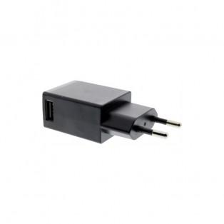 EPZI väggladdare - Strömadapter 100-240V till USB 5V 2,1A - 1xUSB Typ A - svart