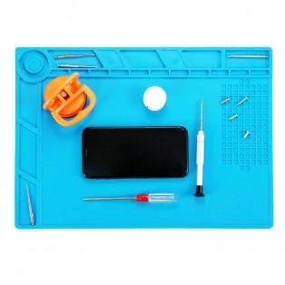 ActionKing matta för reparationer - Värmetålig med magneter 35x25cm - Silikon