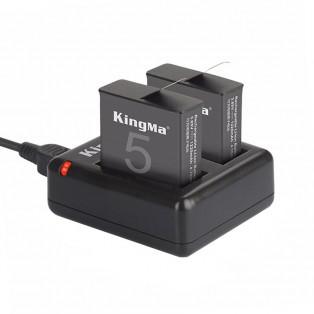 Batteriladdare för GoPro Hero5 batterier AHDBT-501