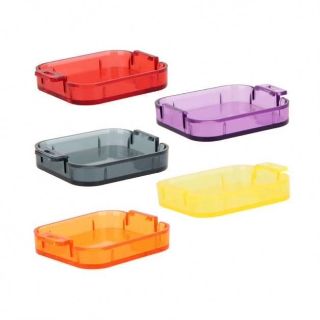 Färgfilter för dykning Gul + Röd + Lila + Orange + Grå - Paket Hero5/6/7