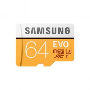 Samsung microSD EVO 64GB (R100/W60 Mb/s) Minneskort SDXC